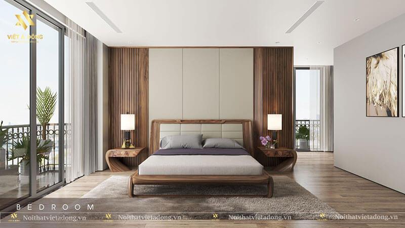 Tab đầu giường mang lại thẩm mỹ cho căn phòng